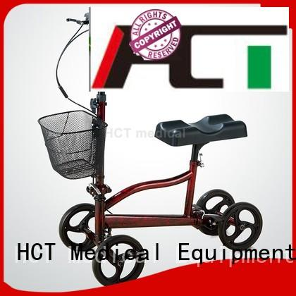 all steel HCT Medical Brand ambulate knee walker factory