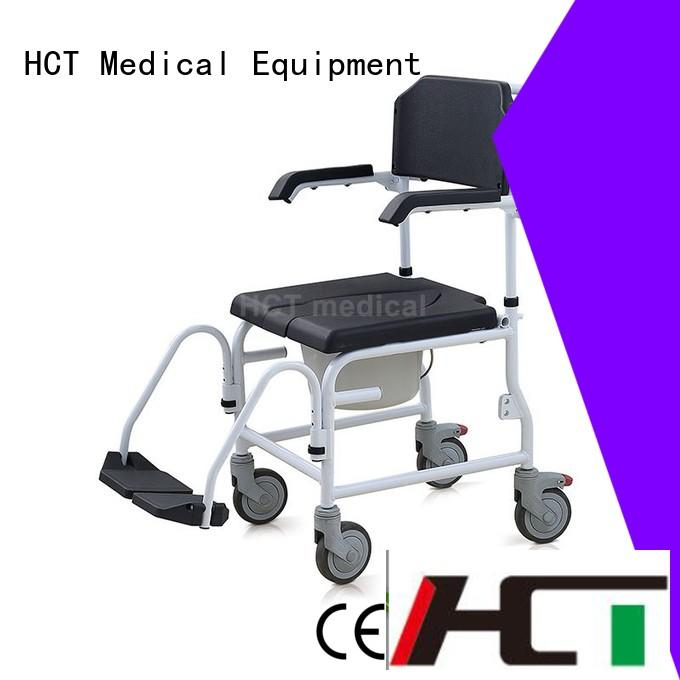 mobile commode HCT Medical Brand commode chair for sale