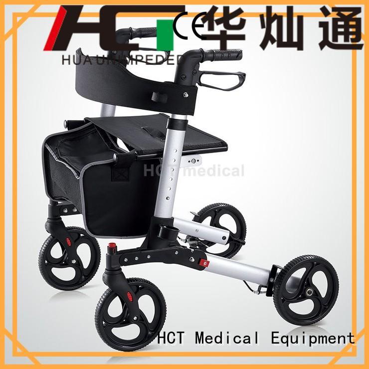 chairrollator rollator walker function HCT Medical company