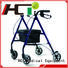 bag articulated version folding rollator walker HCT Medical