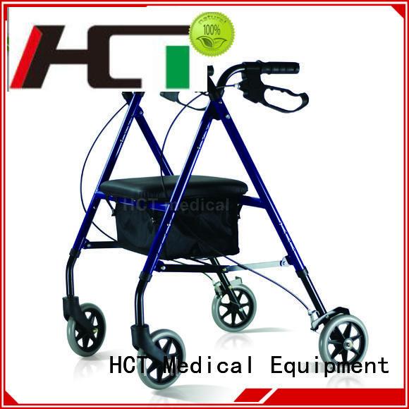 patent simple aluminum rollator HCT Medical Brand