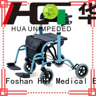aluminum forearm chairrollator rollator walker HCT Medical Brand company