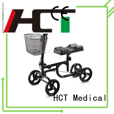 HCT Medical knee scooter for sale series for knee injured person
