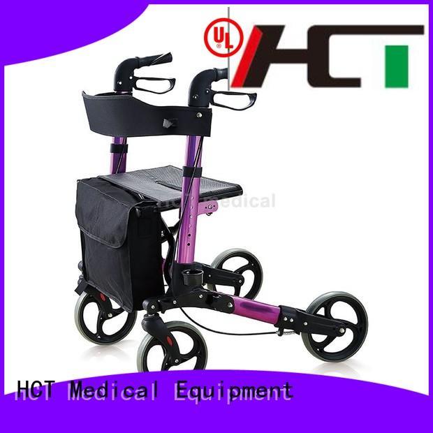 simple functional rollator walker function HCT Medical Brand