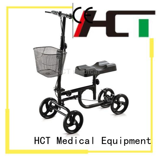 HCT Medical rolling knee scooter series for rehabilitation centre