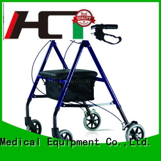 steel aluminum function rollator walker HCT Medical Brand