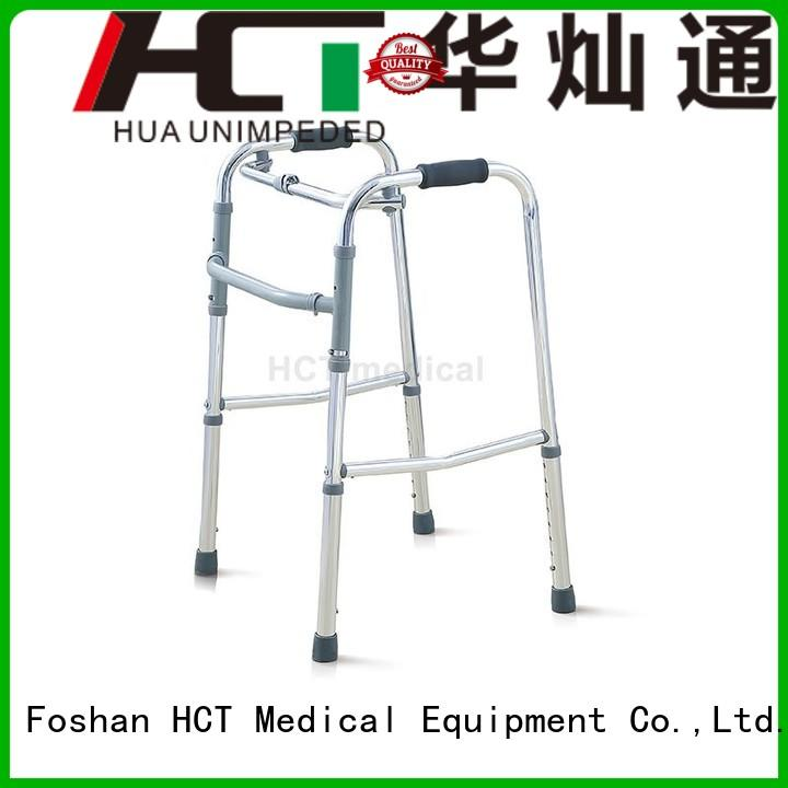height functional lightweight aluminum rollator HCT Medical manufacture