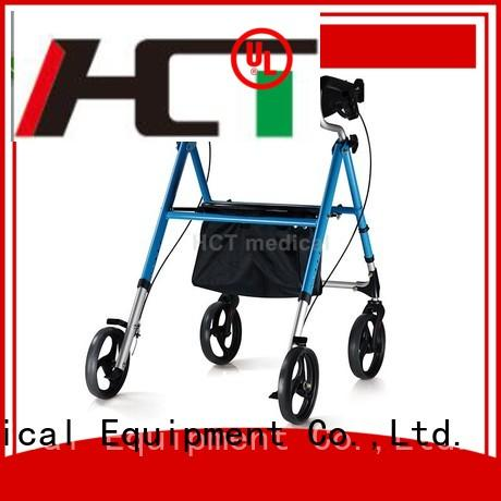 HCT Medical Brand function articulated aluminum rollator seat supplier