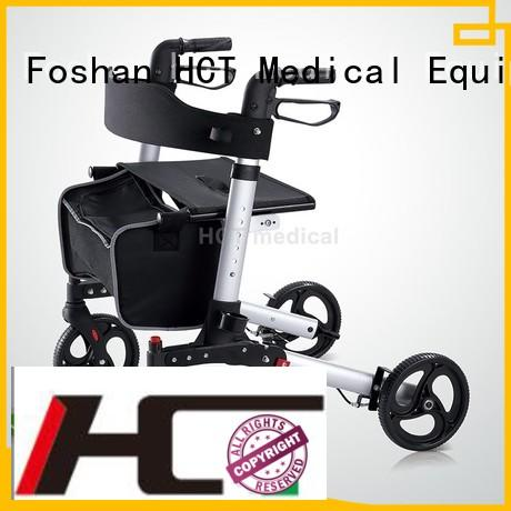 transport euro HCT Medical Brand aluminum rollator