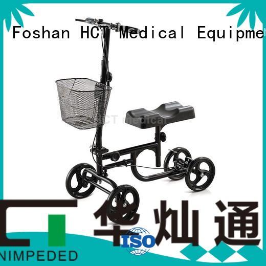 HCT Medical Brand walker knee terrain ambulate knee walker