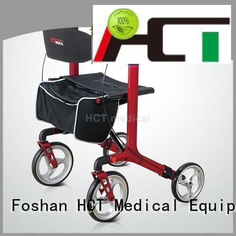 aluminum rollator forearm bag rollator walker adjustable HCT Medical Brand