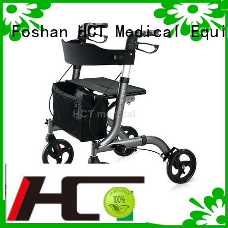 version transport aluminum rollator HCT Medical Brand
