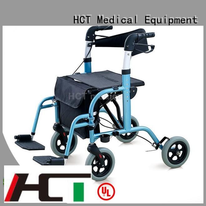 aluminum rollator wheeled function chair rollator walker manufacture