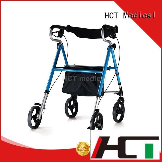 lightweight walker with wheels design for elderly