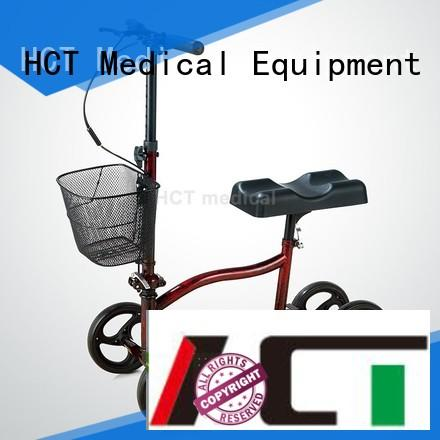 HCT Medical steerable knee scooter for sale manufacturing for rehabilitation centre
