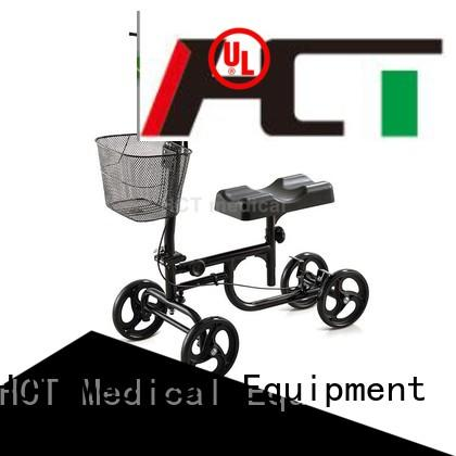 knee steel terrain knee walker scooter HCT Medical Brand