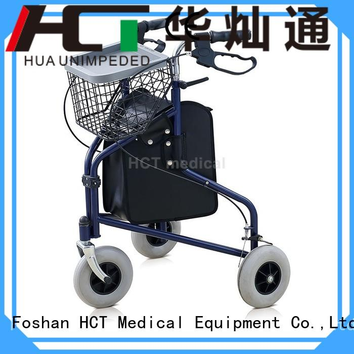 rolling rollator walker articulated function HCT Medical company