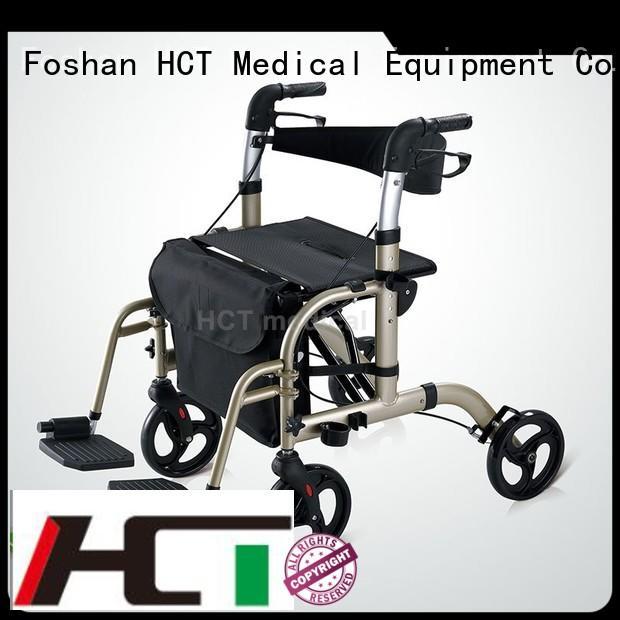 HCT Medical Brand wheeled rolling rollator walker manufacture