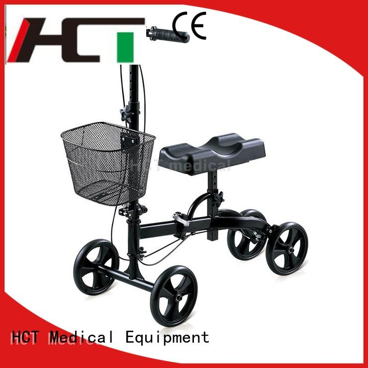 comfortable steerable knee walker manufacturing for knee injured person