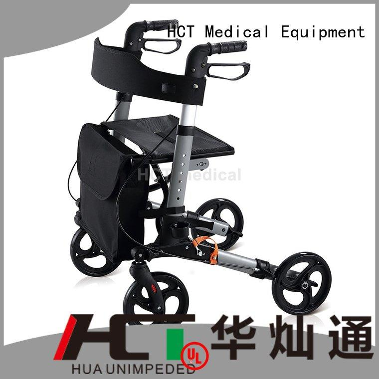 Hot aluminum rollator chairrollator rollator walker forearm HCT Medical