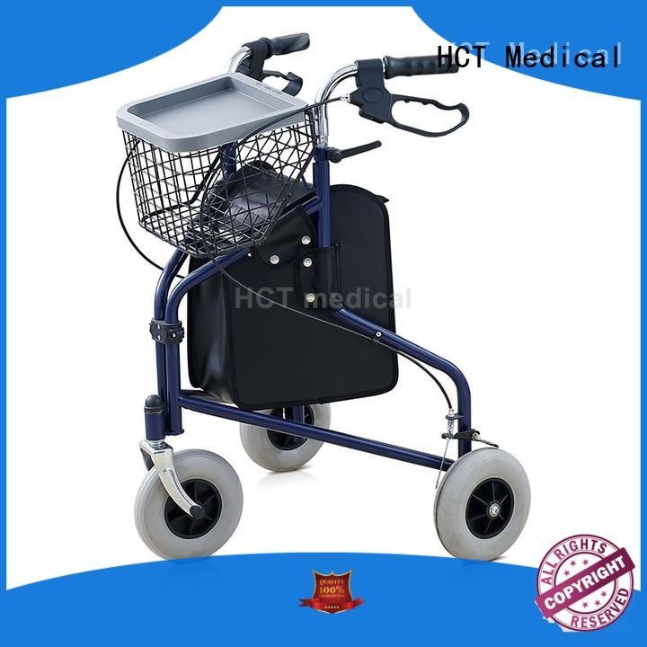 HCT Medical lightweight drive knee walker reciprocal for patient