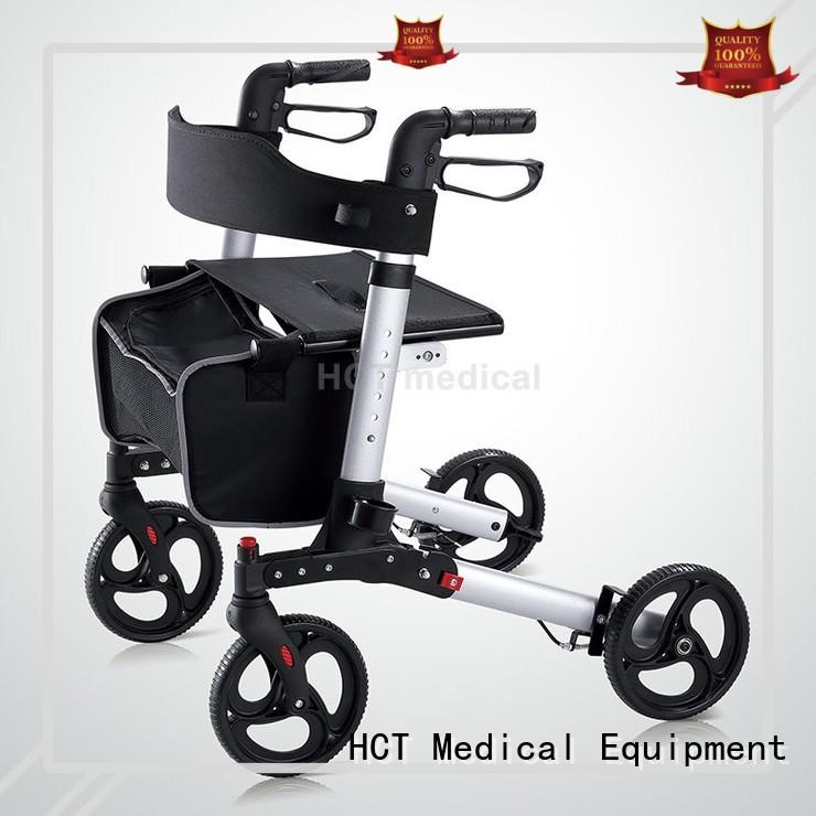 lightweight rollator walker with seat with articulated function for rehabilitation centre HCT Medical