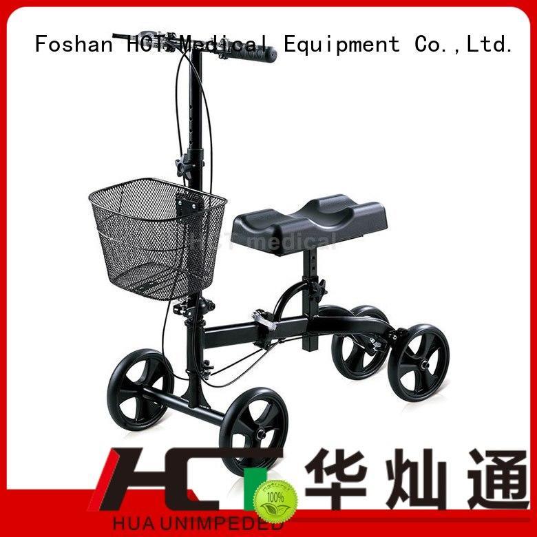 all knee walker knee walker scooter steel HCT Medical