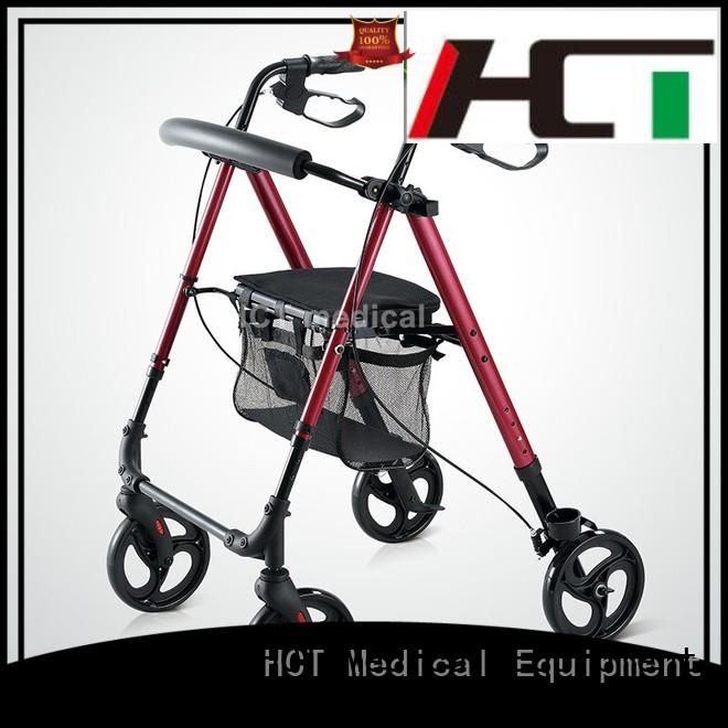 aluminum rollator height knockeddown version rollator walker manufacture