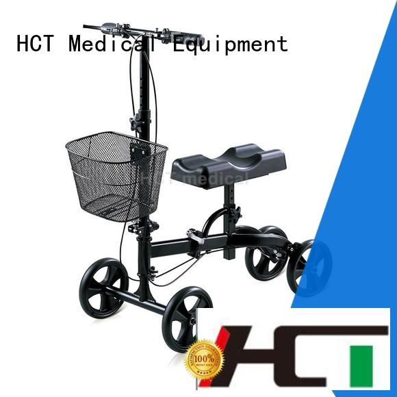 advanced medical knee scooter factory direct supplyfor knee injured person