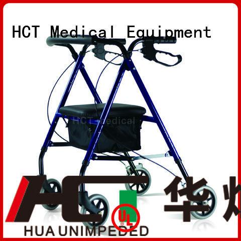 version aluminum rollator rollator HCT Medical company