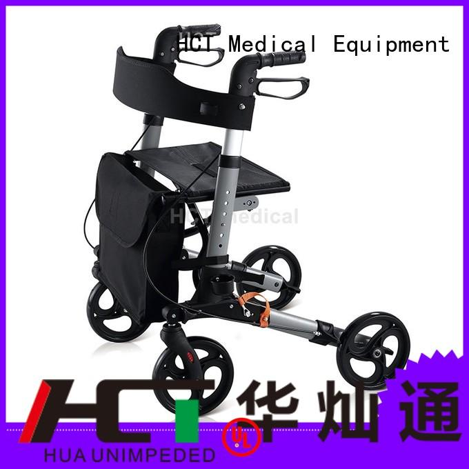 Quality HCT Medical Brand transfer rollator walker
