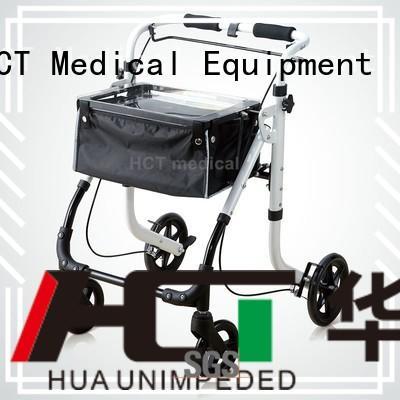 height steel HCT Medical Brand aluminum rollator