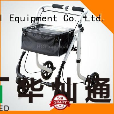 HCT Medical Brand knockeddown rollator walker articulated factory