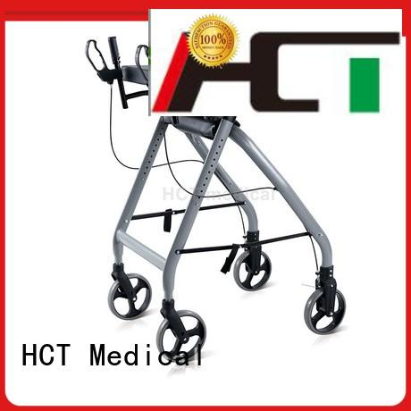 HCT Medical professional foldable rollator design for hospital