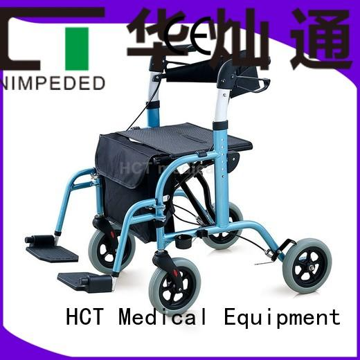 height Custom folding rollator walker version HCT Medical