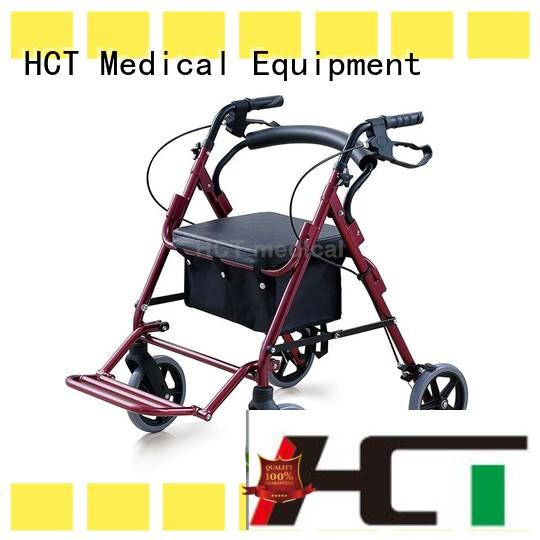 aluminum rollator manufacturers forearm for patient HCT Medical