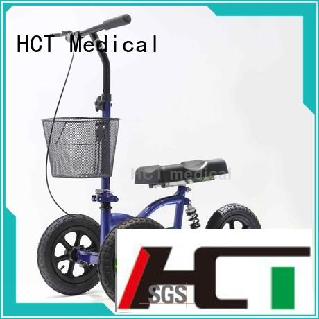 HCT Medical flexible knee walker scooter manufacturing for home use