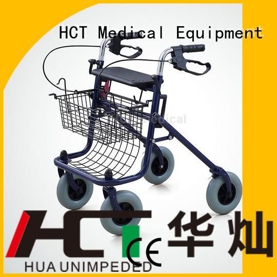 aluminum rollator lightweight version steel HCT Medical Brand