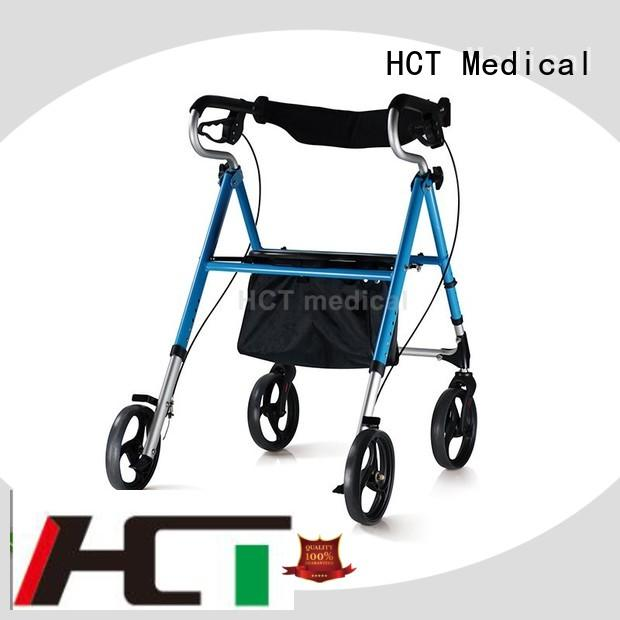 professional walker with wheels manufacturing for hospital