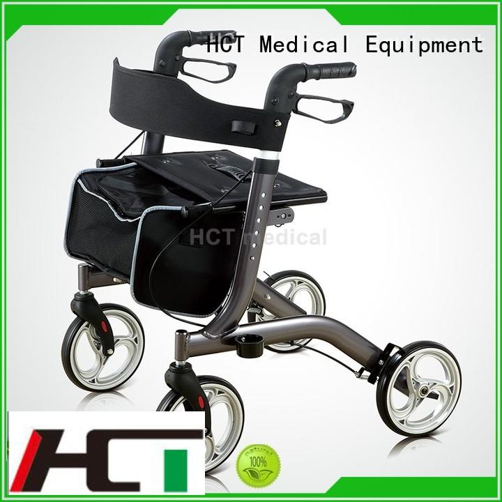 HCT Medical lightweight outdoor rollator series for elderly