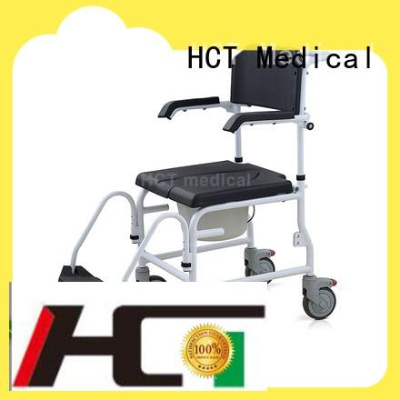 HCT Medical flexible commode toilet chair wholesale for home use