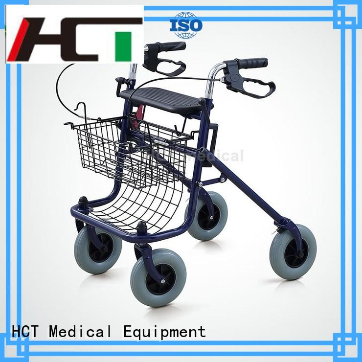 aluminum rollator adult indoor HCT Medical Brand