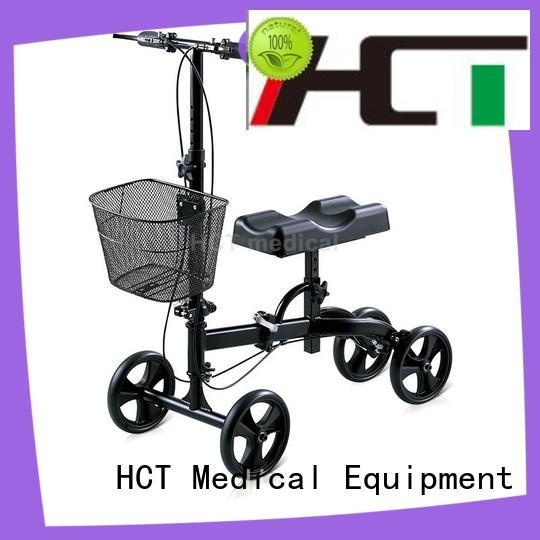 comfortable steerable knee walker scooter wholesale for knee injured person HCT Medical