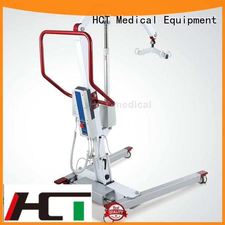 HCT Medical portable manual patient lift hoist wholesale for rehabilitation centre