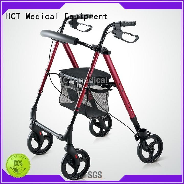 with footrest forearm rollator forearm for rehabilitation centre HCT Medical