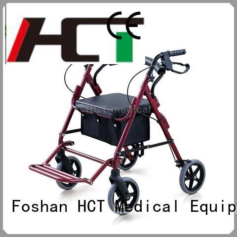 Wholesale lightweight aluminum rollator simple HCT Medical Brand