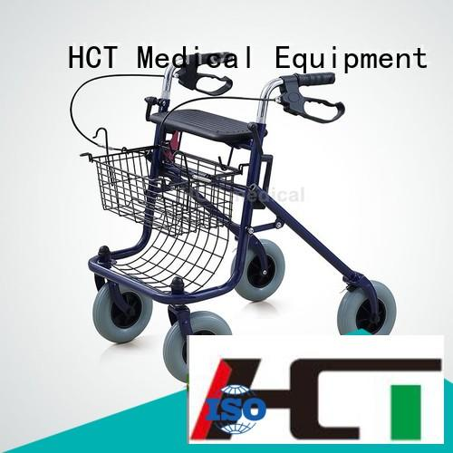 HCT Medical Brand functional wheeled indoor custom aluminum rollator