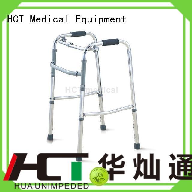 transport chairrollator adult aluminum rollator HCT Medical manufacture