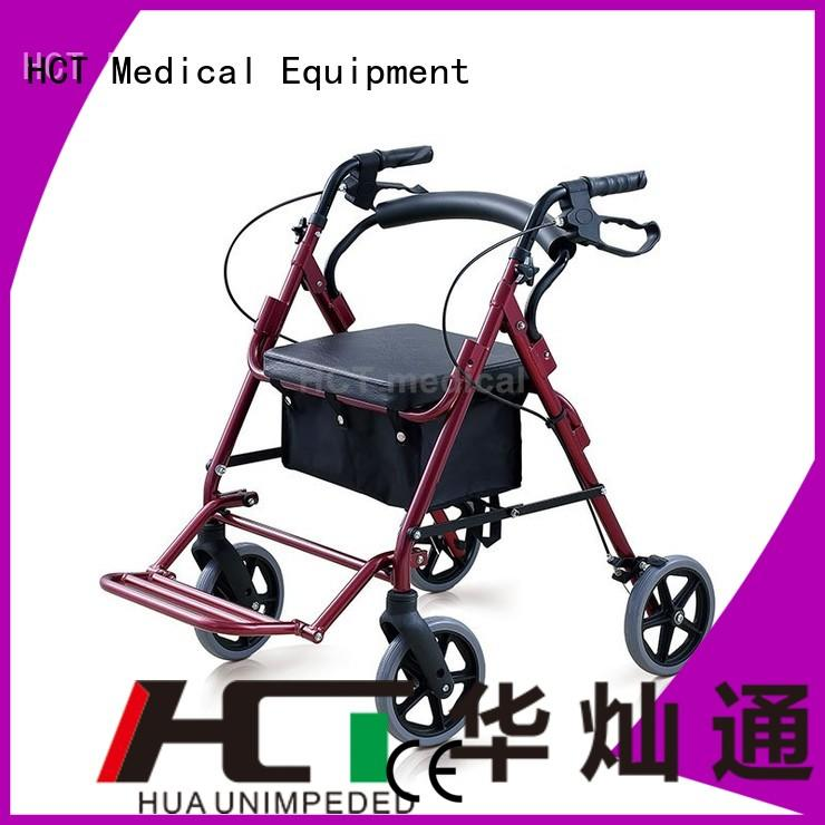 aluminum rollator foldable rollator walker articulated company