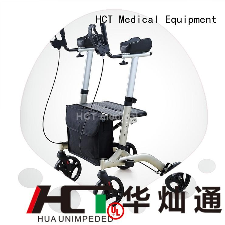 Custom forearm euro rollator walker HCT Medical adjustable